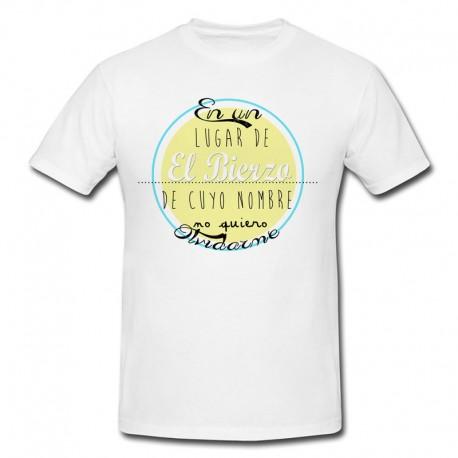 """Camiseta """"En un lugar de El Bierzo"""""""
