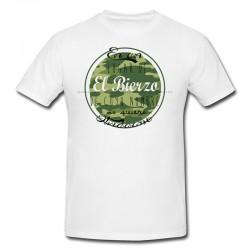 """Camiseta """"En un lugar de El Bierzo"""" camuflaje"""