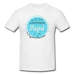 Camiseta Papá héroe