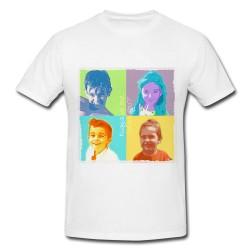 camiseta personalizada fotos tipo warhol