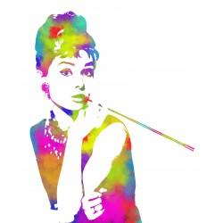 camiseta Audrey multicolor