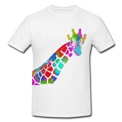 Camiseta Jirafa multicolor