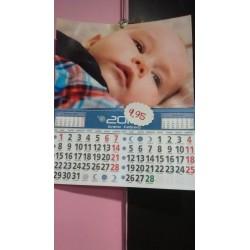 calendario faldilla pequeña