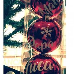 Bolas de Navidad...