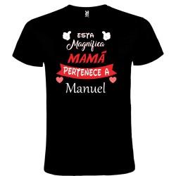 Camiseta mamá magnífica