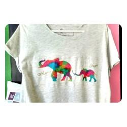 Camiseta mamá elefante