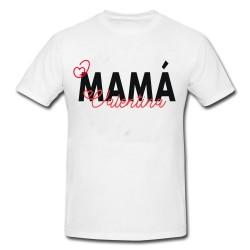 Camiseta mamá texto
